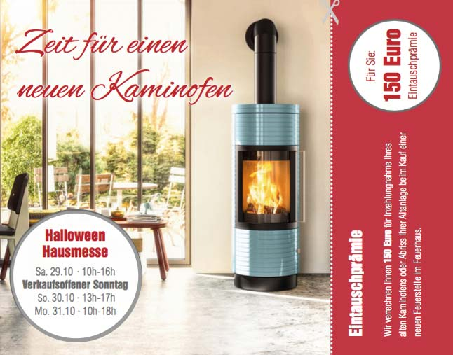 Kaminofen Aktion Trier Oktober 2016 Halloween