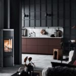 Kaminofen Contura-890T-Style-black-chimney